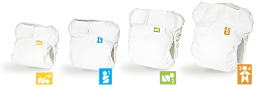 Mabu Baby Eco-Diaper in all sizes plus tags