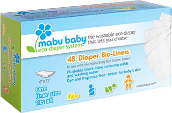 Mabu Baby Eco-Diaper Liner Box